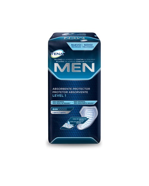 Tena Protector Absorbente Men Level 1 24 Und