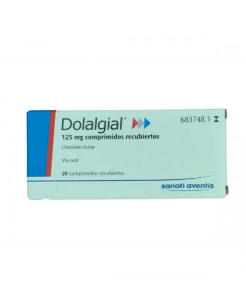 dolalgial (125 mg 20 comprimidos recubiertos )
